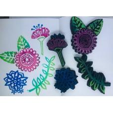 Art By Marlene - Garden Flowers