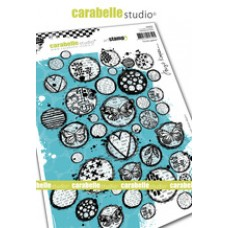 Carabelle Studio A5 Stamp - Circles Galore by Birgit Koopsen