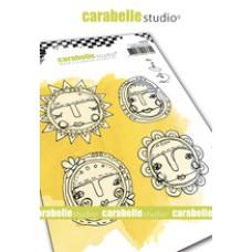 Carabelle Studio A6 Stamp - Art Dolls by Kate Crane