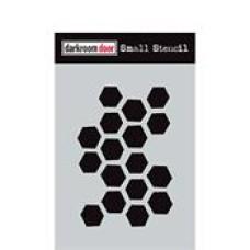 Small Stencil - Arty Hexagons