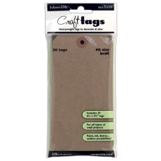 Ranger Craft Tags - Kraft # 8