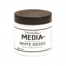 Dina Wakley Media White Gesso 4oz