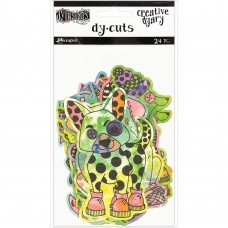 Dyary Dy-Cuts Coloured Animals