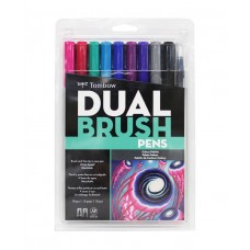 Tombow Dual Brush Pens - Galaxy Colours 10 pack