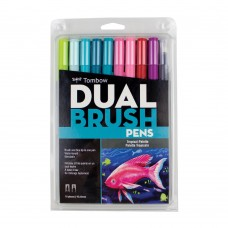 Tombow Dual Brush Pens - Tropical Colours 10 pack