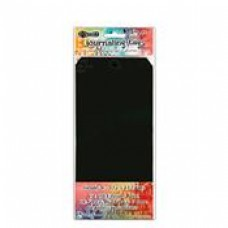 Tags Dylusions Black  No10 (10 Pack )