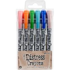 Distress Crayons Set 6