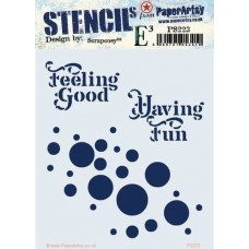 Scrapcosy Stencil 223