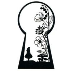 Alice Keyhole Silhouette