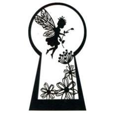 Fairy Keyhole Silhouette