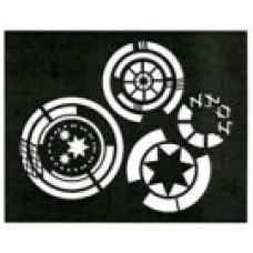 Cool Circles Stencil