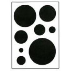 Circles Stencil
