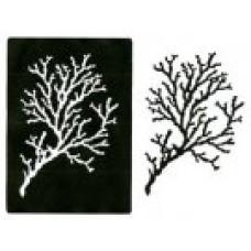 Coral Stencil  Pos & Neg