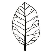 Leaf Mask Stencil