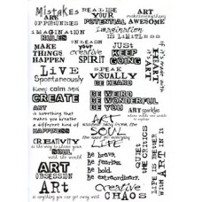 Art Phrases Transparency