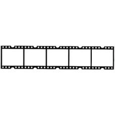 Filmstrip 5 Frames Transparency