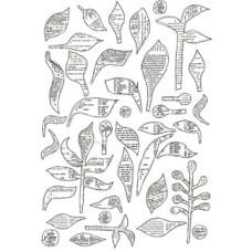 Bookprint Foliage Transparency