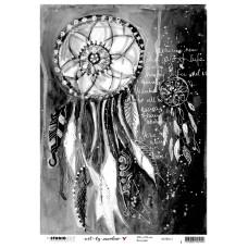 Art By Marlene 5.0 Rice Paper 12 - Dreamcatcher