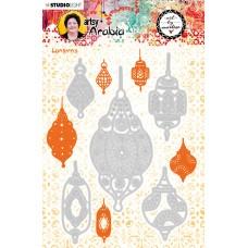 Art by Marlene Artsy Arabia Die - Lanterns