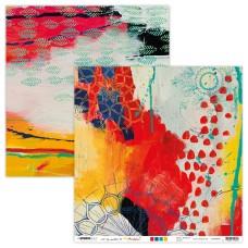 Art By Marlene Artsy Arabia Scrapbook Paper 01