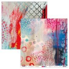 Art By Marlene Artsy Arabia Scrapbook Paper 02