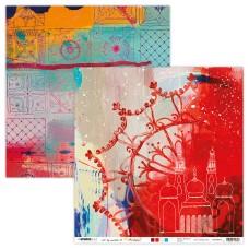 Art By Marlene Artsy Arabia Scrapbook Paper 03