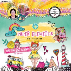 Art By Marlene Paper Elements Die Cuts Mint Collection