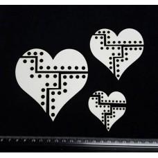 Steampunk Heart Parts
